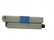Toner Schwarz 2200 S. OKI 44973536 kompatibel