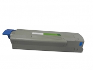 Toner Cyan 2000 S. OKI 43872307 kompatibel