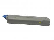 Toner Yellow 6000 S. OKI 43487709 kompatibel