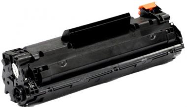 Toner Schwarz 1500 S. HP CF283A kompatibel