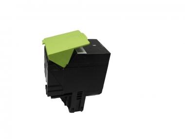 Toner Schwarz 4000 S. Lexmark 70C2HK0, 702HK kompatibel