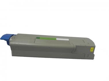 Toner Yellow 2000 S. OKI 43872305 kompatibel