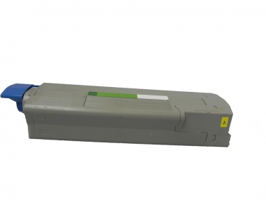 Toner Yellow 6000 S. OKI 43865721 kompatibel