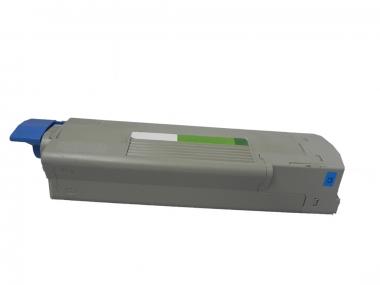 Toner Cyan 6000 S. OKI 43324423 kompatibel