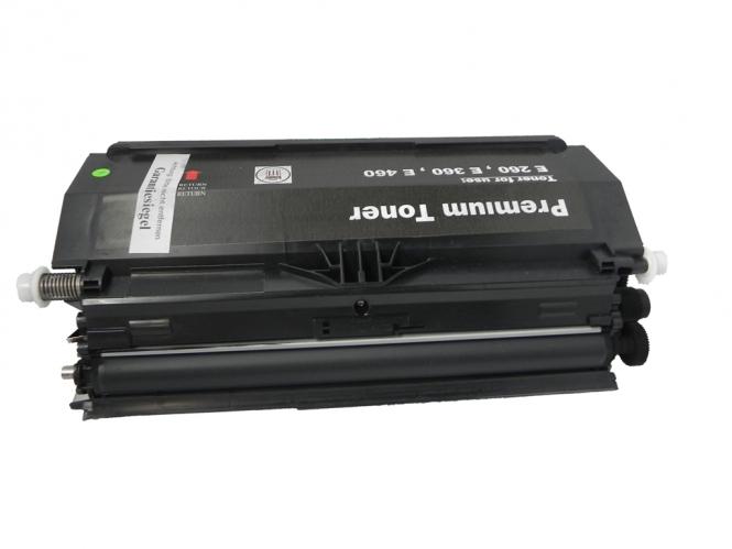 Toner Schwarz 3500 S. Lexmark E260A11E  kompatibel