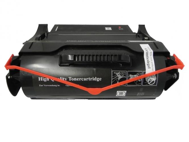 Toner Schwarz 25000 S. Lexmark 0T650H31E , 0T650H11E kompatibel