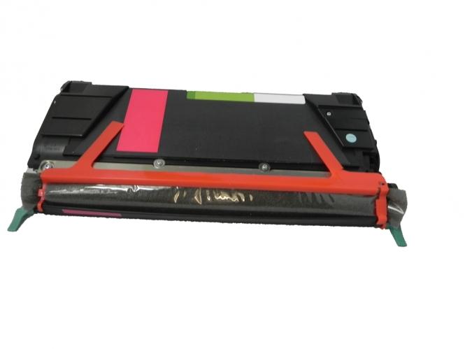Toner Magenta 7000 S. Lexmark C746A1MG kompatibel