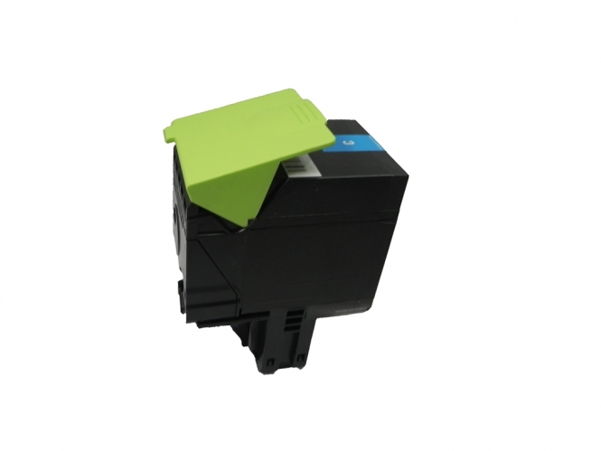 Toner Cyan 3000 S. Lexmark 70C2HC0, 702HC kompatibel