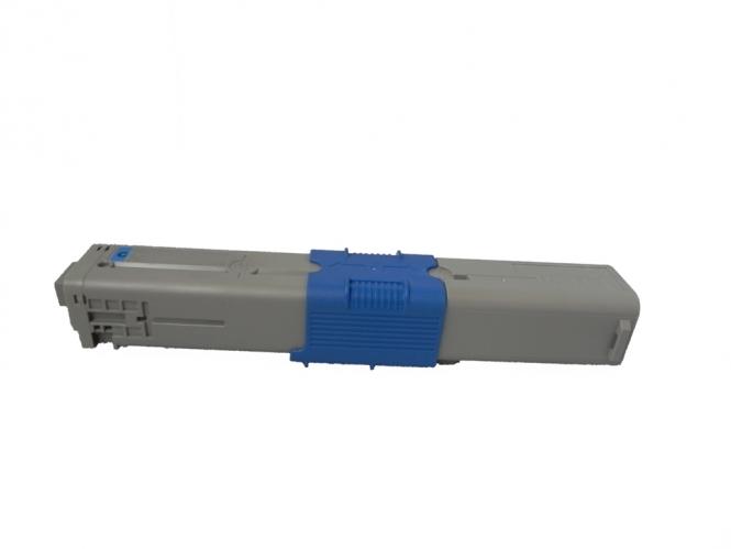 Toner Cyan 1500 S. OKI 44973535 kompatibel