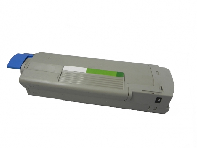 Toner Schwarz 6000 S. OKI 43324408 kompatibel