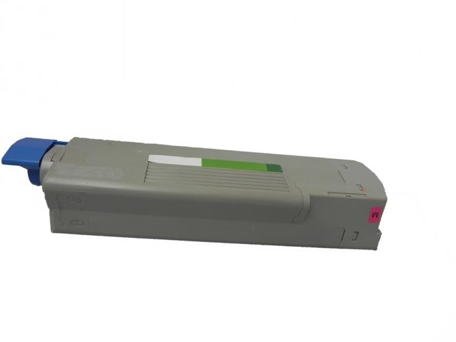Toner Magenta 6000 S. OKI 43865722 kompatibel
